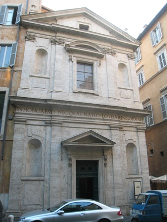 Saint Nicholas facade