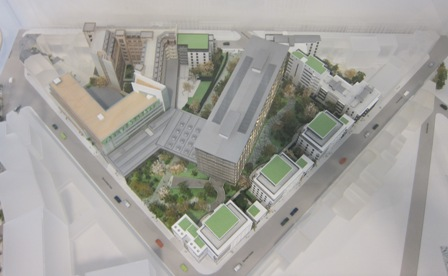Model of the proposed renovation