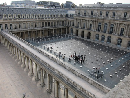South court of Palais Royale